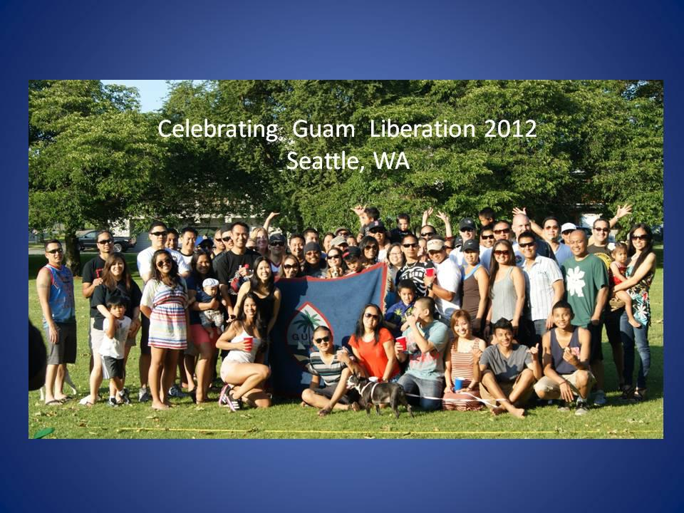 Guam Liberation Seattle Washington 2012.