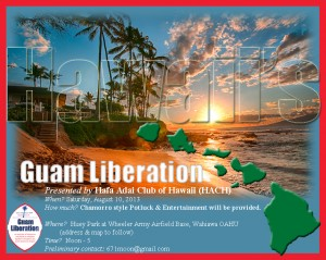 Guam Liberation Hawaii 2013