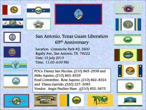 San Antonio, TX Guam Liberation