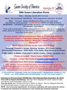 Alexandria,VA Guam Liberation