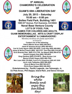 Ventura and Port Hueneme, CA Guam Liberation