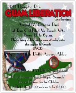 2nd Annual Guam Liberation Virginia Beach