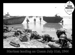 Marines on Guam July 21st 1944