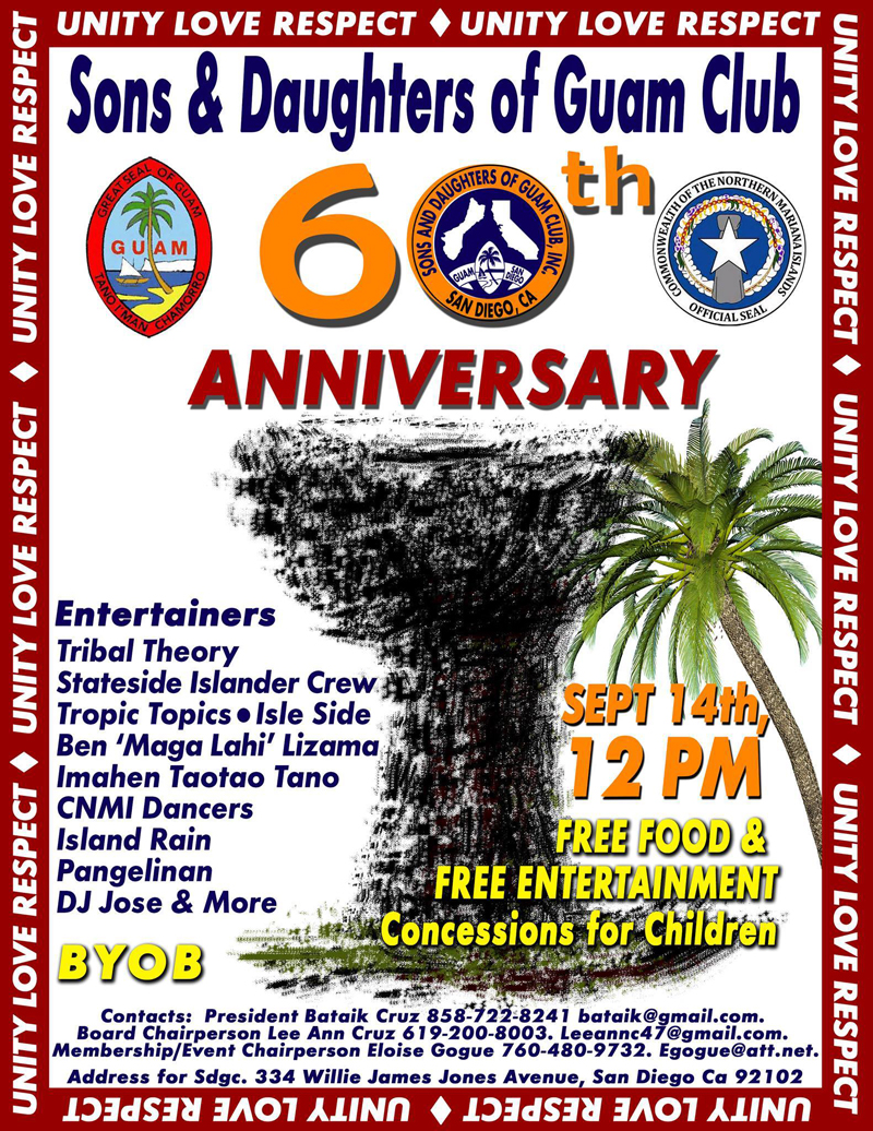 Guam Club's 60th Anniversary