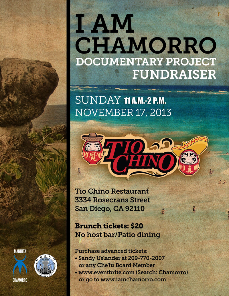 I AM CHAMORRO Fundraiser