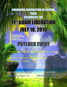71st Guam Liberation in Texas 2015