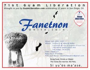 San Diego Guam Liberation 2015