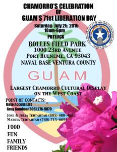 Pt Hueneme Guam Liberation