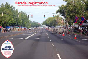 71st Guam Liberation Parade Registration