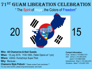 Guam Liberation South Korea