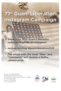 #GuamLiberation2015 on Instagram to Win