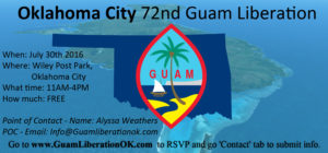 Oklahoma City Guam Liberation 2016