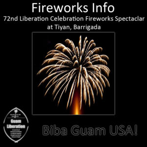 72nd Fireworks Info